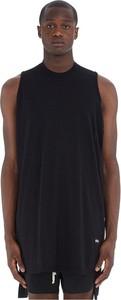 Czarny t-shirt Rick Owens w stylu casual z długim rękawem