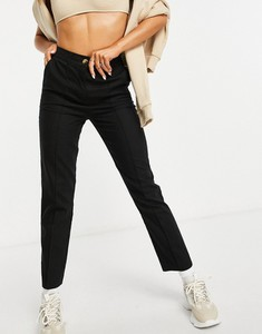 Czarne spodnie Asos z lnu