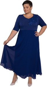 1887816bc3 długa sukienka szyfonowa - stylowo i modnie z Allani