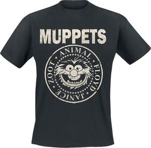 Czarny t-shirt Emp z bawełny w młodzieżowym stylu