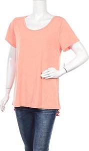 Różowy t-shirt Lila Rose z okrągłym dekoltem