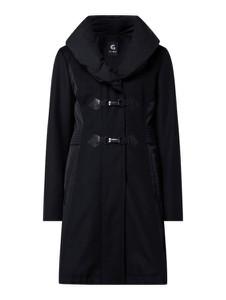 Granatowy płaszcz Gil Bret w stylu casual z wełny