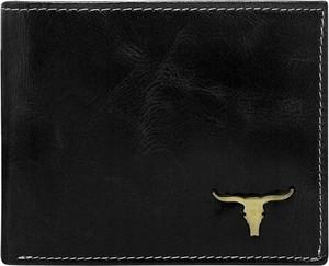Czarny portfel męski Buffalo Wild