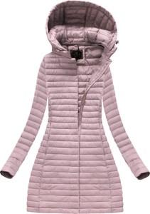 Różowa kurtka libland w stylu casual
