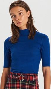 Niebieska bluzka Cropp