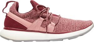 Czerwone buty sportowe Roxy sznurowane