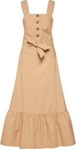 Sukienka POSTYR z bawełny w stylu casual