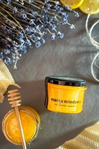 Bathbee Sp. Z O.o Miód – 100% naturalna maska do ciała/ słoik 250g
