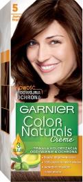 Garnier, Color Naturals, farba do włosów, 5 jasny brąz
