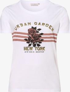 T-shirt ONLY Carmakoma w młodzieżowym stylu z krótkim rękawem z okrągłym dekoltem