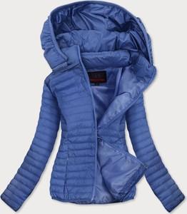 Niebieska kurtka Goodlookin.pl w stylu casual krótka