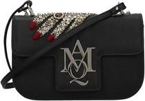 Czarna torebka Alexander McQueen