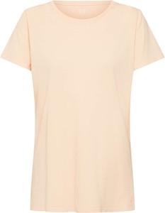 Bluzka Gap z krótkim rękawem z okrągłym dekoltem w stylu casual