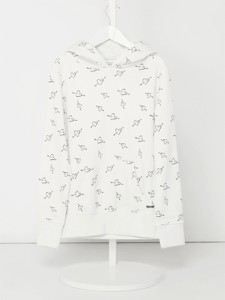 Sweter Review For Teens z bawełny