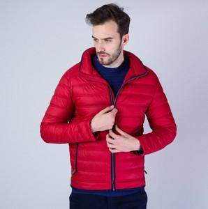 Czerwona kurtka Willsoor w stylu casual krótka