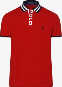 Czerwona koszulka polo POLO RALPH LAUREN