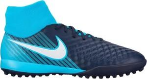 Niebieskie buty sportowe Football