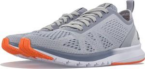Niebieskie buty sportowe Reebok z płaską podeszwą
