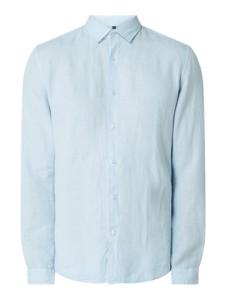 Niebieska koszula McNeal z klasycznym kołnierzykiem