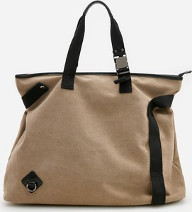 Brązowa torebka Reserved w wakacyjnym stylu na ramię