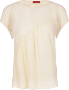 Bluzka Max & Co. w stylu casual z jedwabiu z krótkim rękawem
