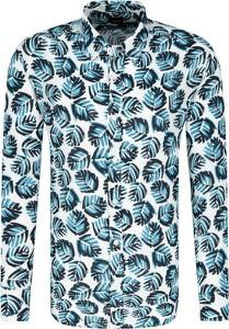 Koszula BOSS Casual z długim rękawem w stylu casual z lnu