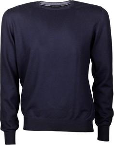 Niebieski sweter Paolo Fiorillo Capri z wełny