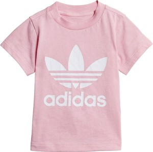 Różowa bluzka dziecięca Adidas