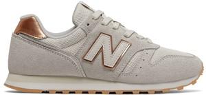 Buty sportowe New Balance z zamszu z płaską podeszwą sznurowane