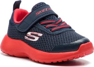 Niebieskie buty sportowe dziecięce Skechers