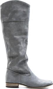 Kozaki Zapato ze skóry