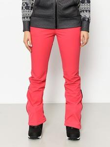 Różowe spodnie sportowe Volcom z plaru