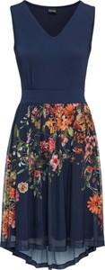 Sukienka bonprix BODYFLIRT maxi z dekoltem w kształcie litery v bez rękawów