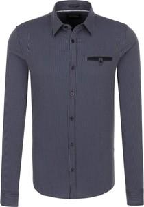 Koszula Guess Jeans z klasycznym kołnierzykiem z długim rękawem w stylu casual
