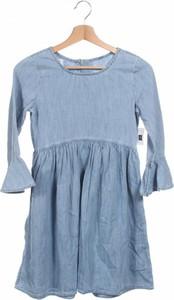 Niebieska sukienka dziewczęca Gap Kids