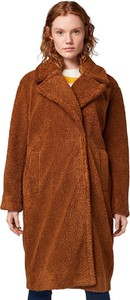 Brązowy płaszcz Tom Tailor w stylu casual
