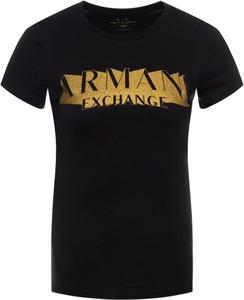T-shirt Armani Jeans w stylu casual z krótkim rękawem