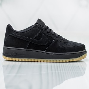 Czarne trampki Nike air force w sportowym stylu
