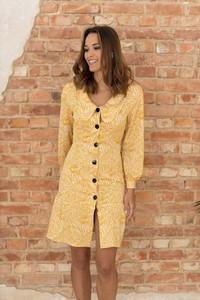 Sukienka Nommo z dekoltem w kształcie litery v w stylu casual