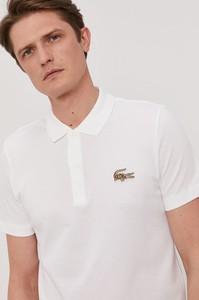 Koszulka polo Lacoste w stylu casual z bawełny z krótkim rękawem