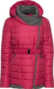 Różowy płaszcz bonprix John Baner JEANSWEAR w stylu casual