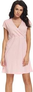 Doctornap Koszula ciążowa 9394 pink koszula do karmienia