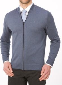 Niebieski sweter Lanieri w street stylu