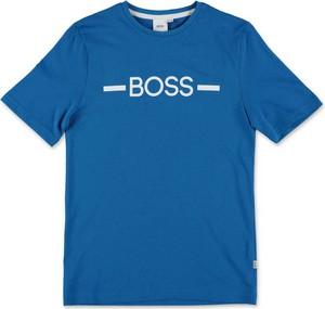 Koszulka dziecięca Hugo Boss z bawełny dla chłopców z krótkim rękawem