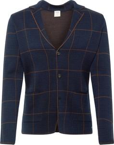 Granatowy sweter Olymp z wełny