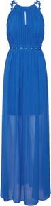 Niebieska sukienka Lipsy maxi