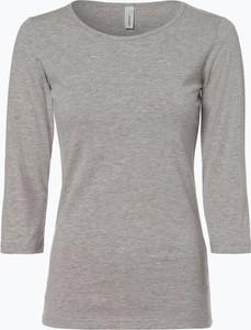 T-shirt Soyaconcept w stylu casual z bawełny z okrągłym dekoltem