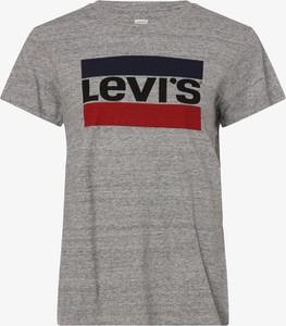 T-shirt Levis z okrągłym dekoltem z krótkim rękawem