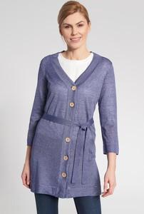 Niebieski sweter QUIOSQUE w stylu casual