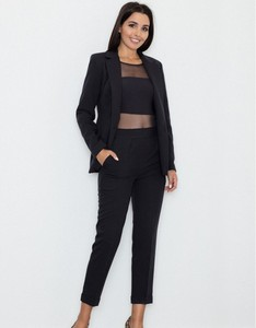 Czarne spodnie Figl